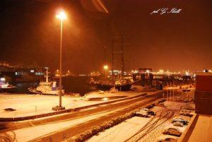 porto innevato  (foto Ibelli)